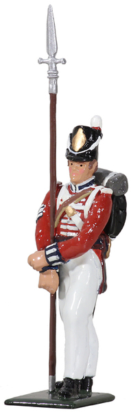 44058 - British Infantry King's 8th Regiment of Foot, NCO, War of 1812/Napoleonic Wars
