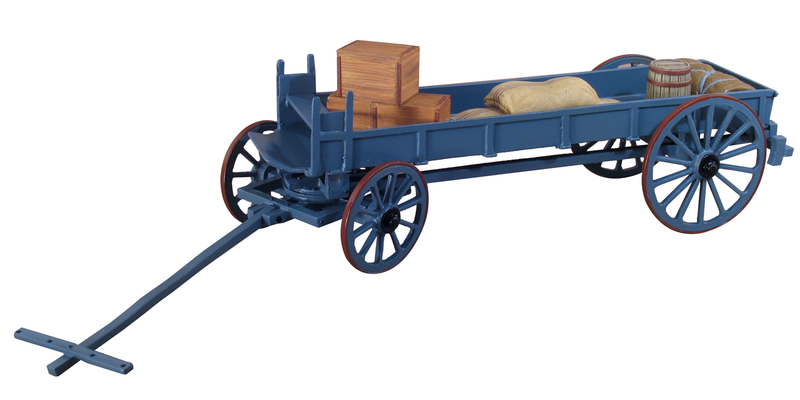 45009 - Zulu War Ox Wagon and Supplies
