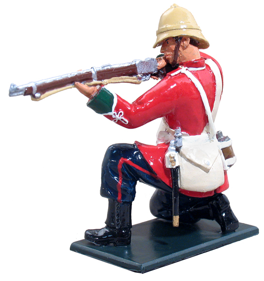 45010 - British 24th Foot Kneeling Firing