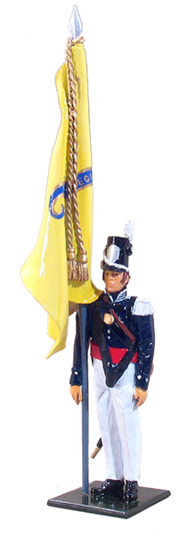46004 - Color Sergeant, U.S. Infantry, 1813-1821