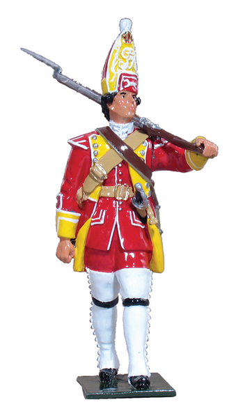 47001 - British Private, 44th Regiment of Foot, 1753-1763