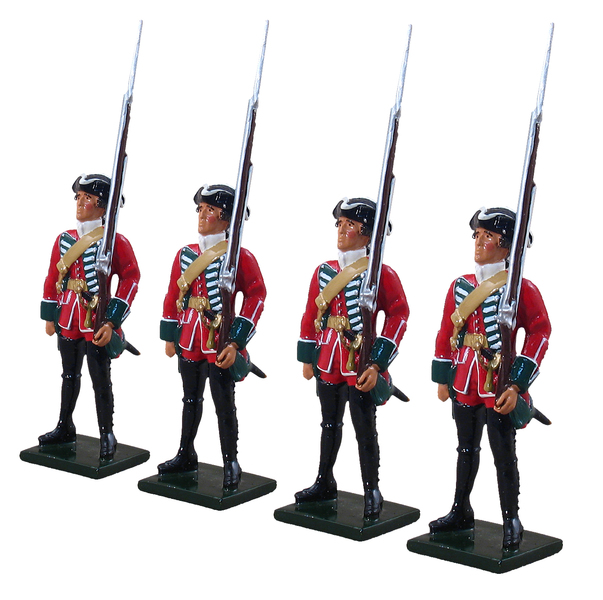 47007 - British 45th Regiment Centre Company Set, 1754-1763