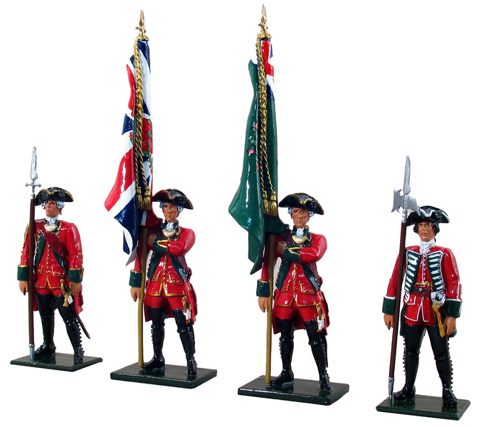 47009 - British 45th Regiment Command Set No.2, 1754-1763