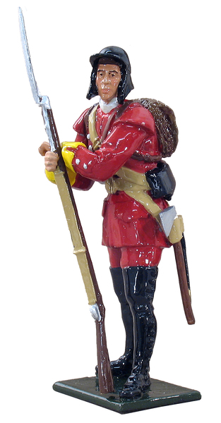 47017 - British Light Infantryman, 1759-1763