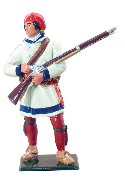 47020 - French Canadian Militia in Capote, 1755-63