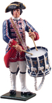 47039 W Britain toy soldier Redcoats & Bluecoats