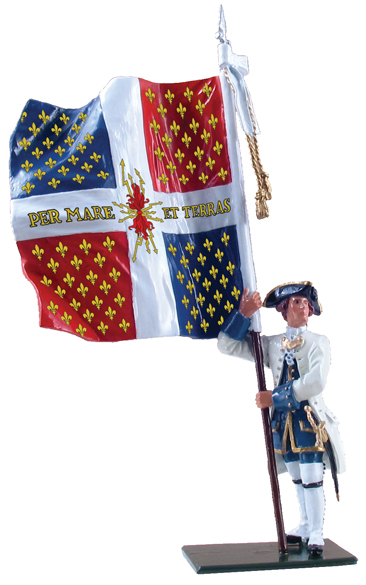 47043 W Britain toy soldier Redcoat & Bluecoat