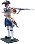 47044 W Britain toy soldier Redcoats & Bluecoats