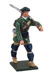 47050 W Britain toy soldier redcoat & bluecoat
