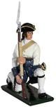 47054 W Britain toy soldier Redcoat & Bluecoats