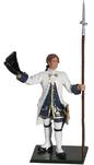 47056 W Britain toy soldier Redcoats & Bluecoats