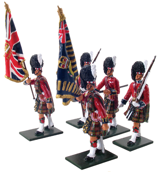48006 - Colour Party of the 1st Bn. Queen's Own Cameron Highlanders (79th)