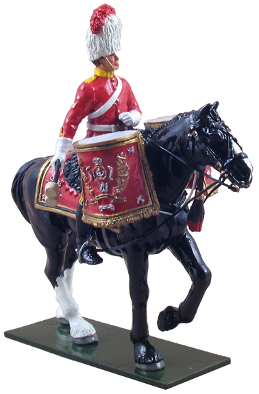 48012 - Royal Scots Dragoon Guards Mounted Kettle Drummer