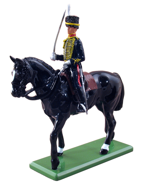 48504 - Trooper, Kings Troop, Royal Horse Artillery, Mounted