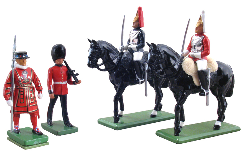 48531 W Britain toy soldier Ceremonial