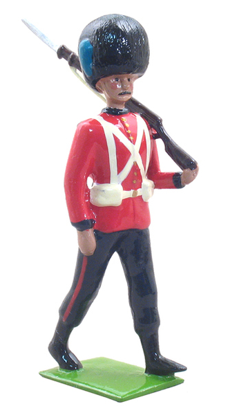 49007 - 1907 Half-Booted Irish Guardsman Marching