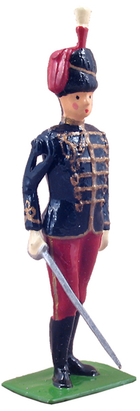 49012 - British 11th Hussars Officer