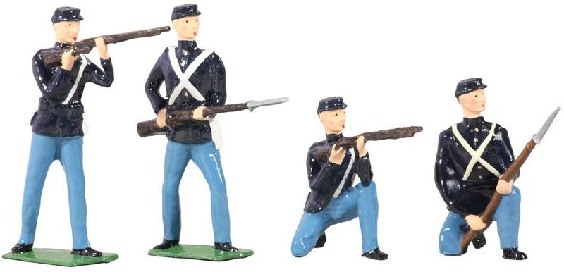 49027 - American Civil War Union Infantry Set No.1