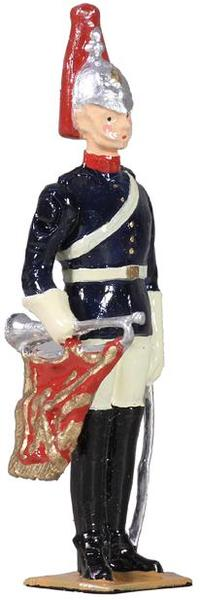 49034 - British Blues and Royals Trumpeter on Foot