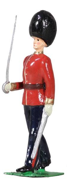 49036 - British Scots Guards Officer Marching