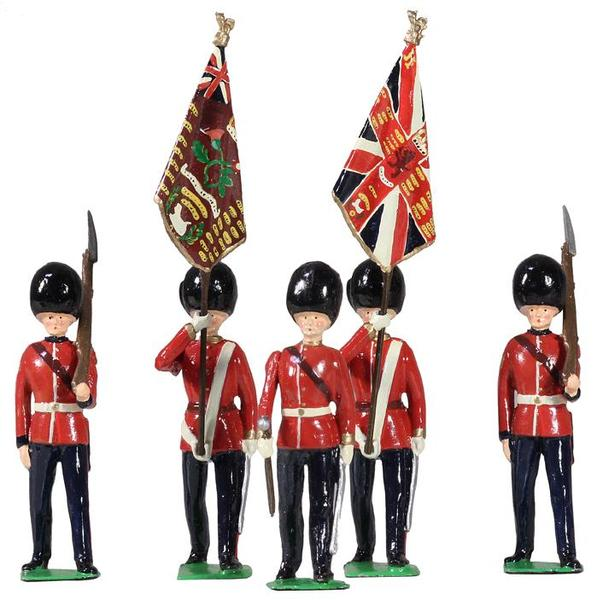 49037 - British 2nd Bn. Scots Guards Colour Party