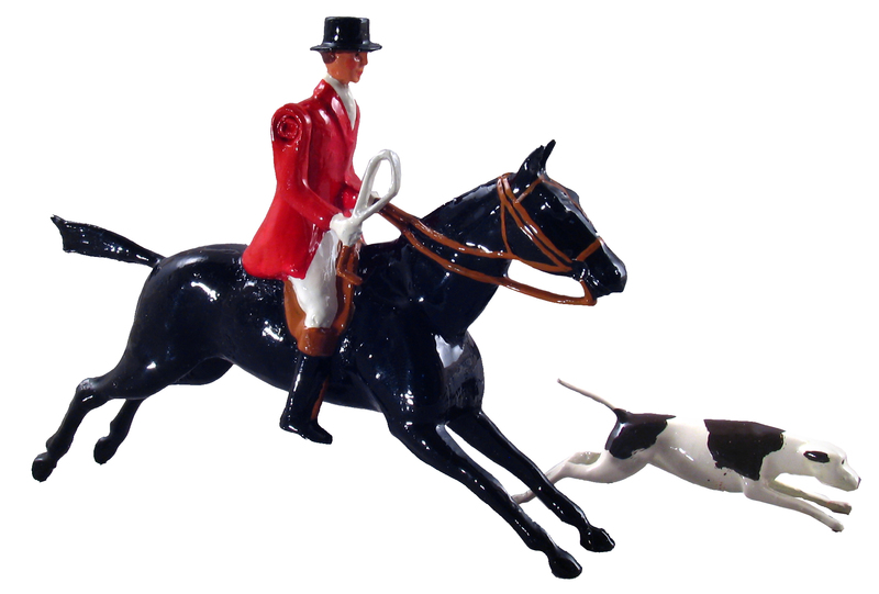49500 - Huntsman Mounted with Hound