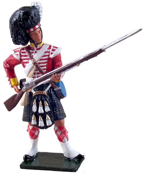 50026C - Redcoats / British 93rd Highlander Standing Loading, 1854-1856