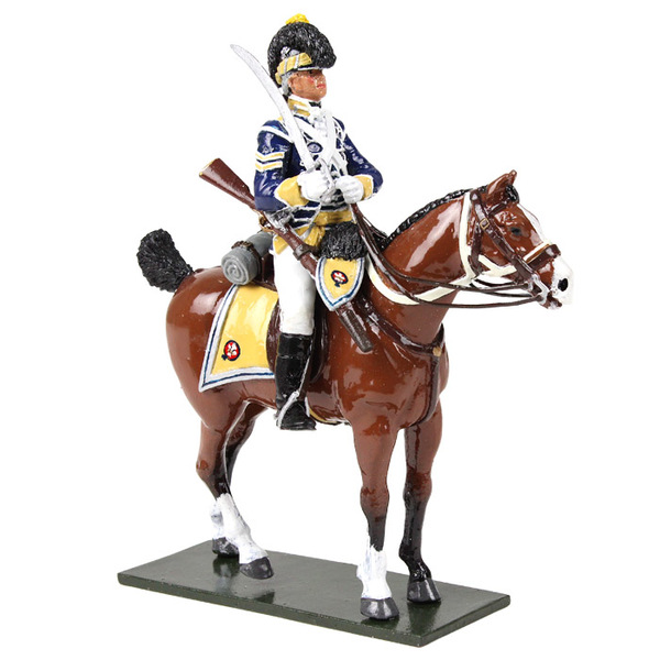 50058C - Regiments / British 10th Light Dragoon Sergeant, Mounted