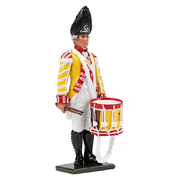 50061C - Regiments / British 6th Regiment of Foot Drummer, 1794