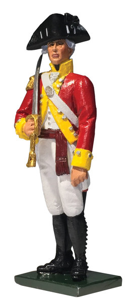 50076C Regiments - British 6th Regiment of Foot Company Officer, 1794