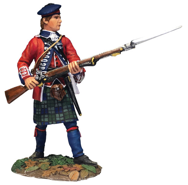 50079C - Clash of Empires - 42nd HRH Standing Defending, 1763