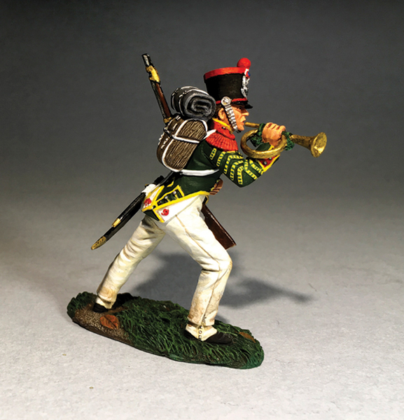 50082C - Napoleonic - French Light Infantry Bugler