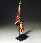 50085C - Regiments - 6th Regiment of Foot Ensign King's Colour 1792