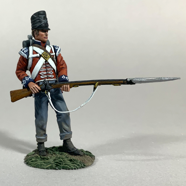 50096C - Napoleonic - British 1st Foot Guard Light Company defending No.1, 1815