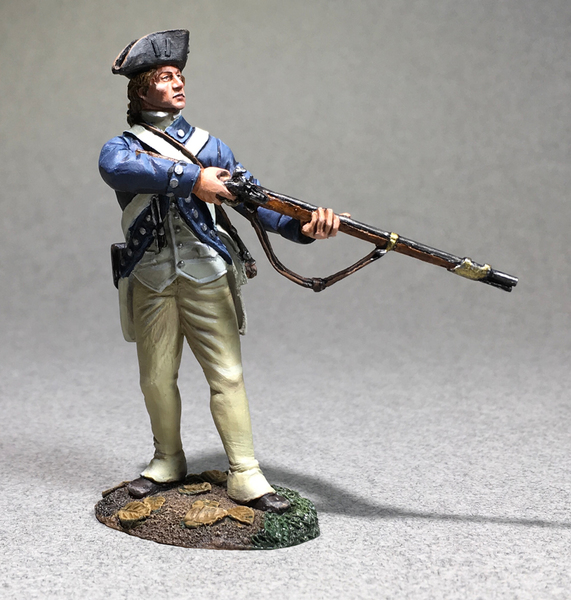 50100C - Clash of Empires - Clark's Illinois Regiment Standing Alert, 1782