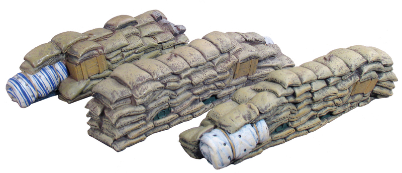 51000 - WWI / WWII Sandbag Sections