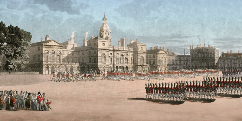 Horse guards Review Regency