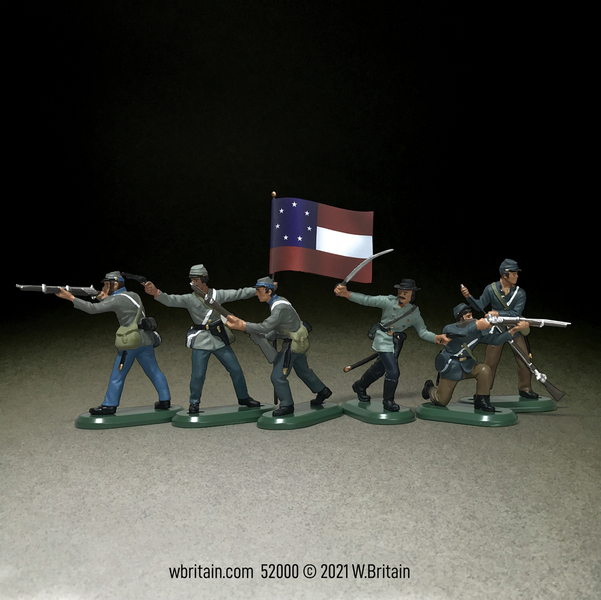 52000 - Confederate Infantry Set No.1
