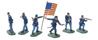 52002 - American Civil War Union Infantry Set No.1