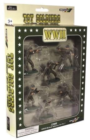 52008 - WWII British Infantry Set No.1