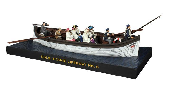 62001 - RMS Titanic Lifeboat No. 6 Commemorative Set