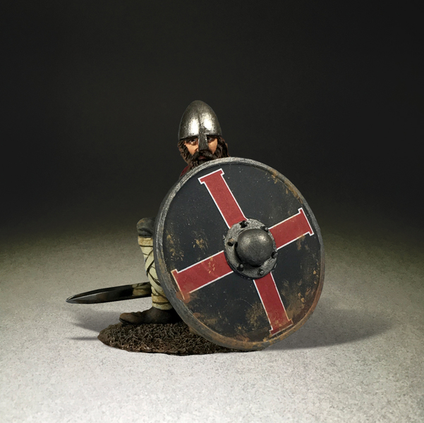 "62124 - ""Seaver"" Saxon Shield Wall Defender"