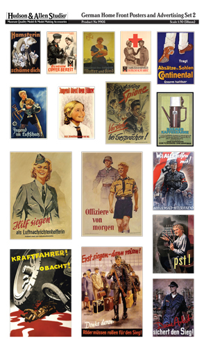 9905 German Home Front Posters and Advertising 2