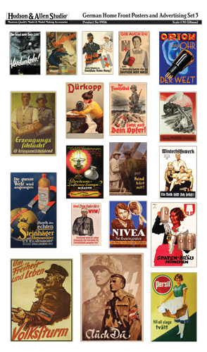 9906 German Home Front Posters and Advertising 3