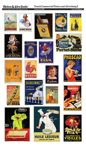 9909 French Commercial Posters and Advertising 2
