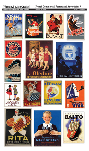 French Commercial Posters of WWII
