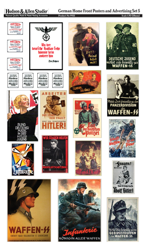 9925 German Home Front Posters and Advertising 5