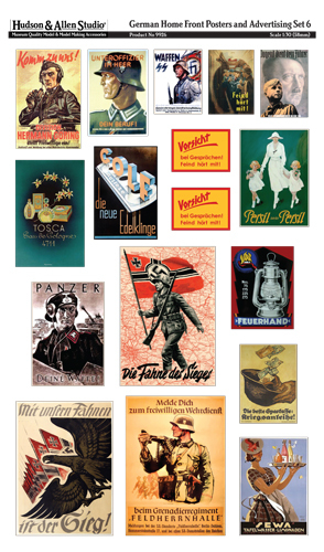 9926 German Home Front Posters and Advertising 6