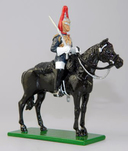 Blues and Royals Corporal of Horse - Mounted