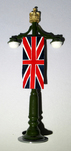 More about the 'Green Lamppost with Flag - BTSC-FIG168' product